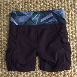 New: Lululemon Speed Track Prism Workout Shorts with Pockets. Size 4